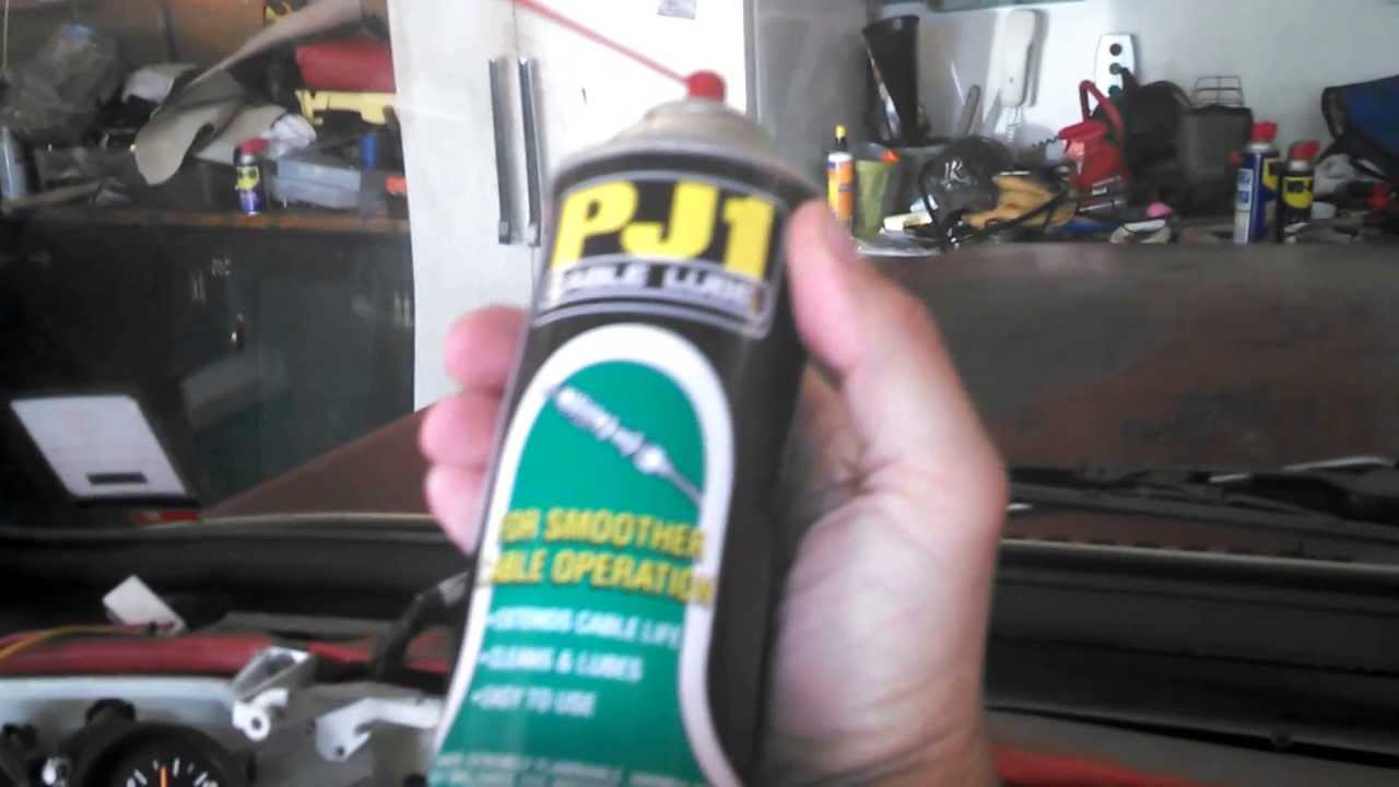 How To Lube A Speedometer Cable