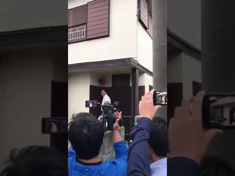 激裏TV・登戸小学生殺傷事件・自殺した岩崎隆一自宅にマスコミ殺到