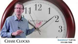 Learn How This Wood Wall Clock Automatically Adjust For Daylight Savings Time