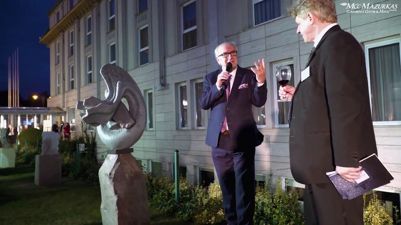 XXX Forum Humanum Mazurkas - otwarcie wernisażu rzeźby i i prezentacja artystów