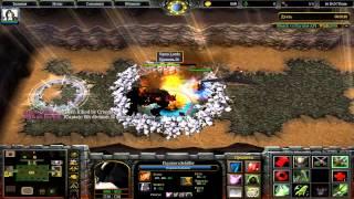 naruto vs bleach №7(warcraft 3 )v 2.0a