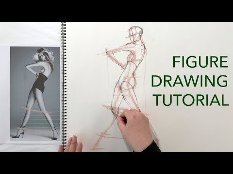Figure Drawing Tutorial: Angles & Proportions (Male & Female)
