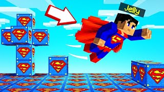 *SUPERMAN* LUCKY BLOCKS WORLD In MINECRAFT!
