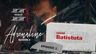 Batistuta - 16 Bar | ادرينالين   (Official Music Video) Prod By. Rashed Muzik