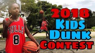 Kids Dunk Contest 2018!! Video