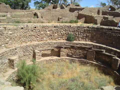Sarkar Family, USA Travel New Mexico Aztec Ruin National Monument July 2010