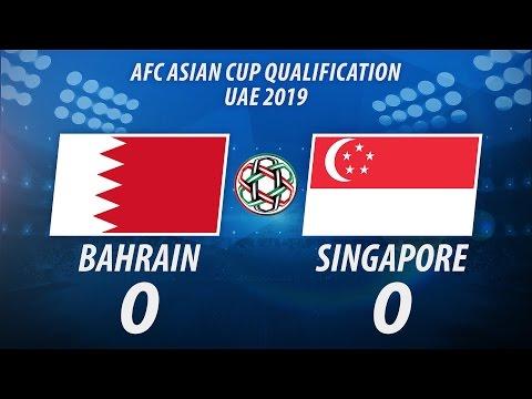 Bahrain 0-0 Singapore | Full Game Highlights | Mar 28, 2017
