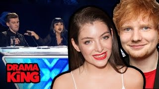 Ed Sheeran & Lorde Slam X-Factor Bullies Natalia Kills Willy Moon (DRAMA KING)