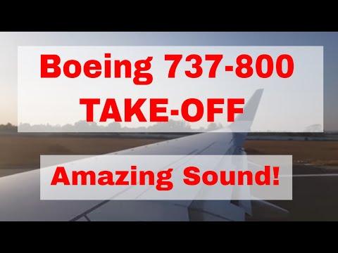 Powerful Takeoff from Robertson International Airport - Liberia