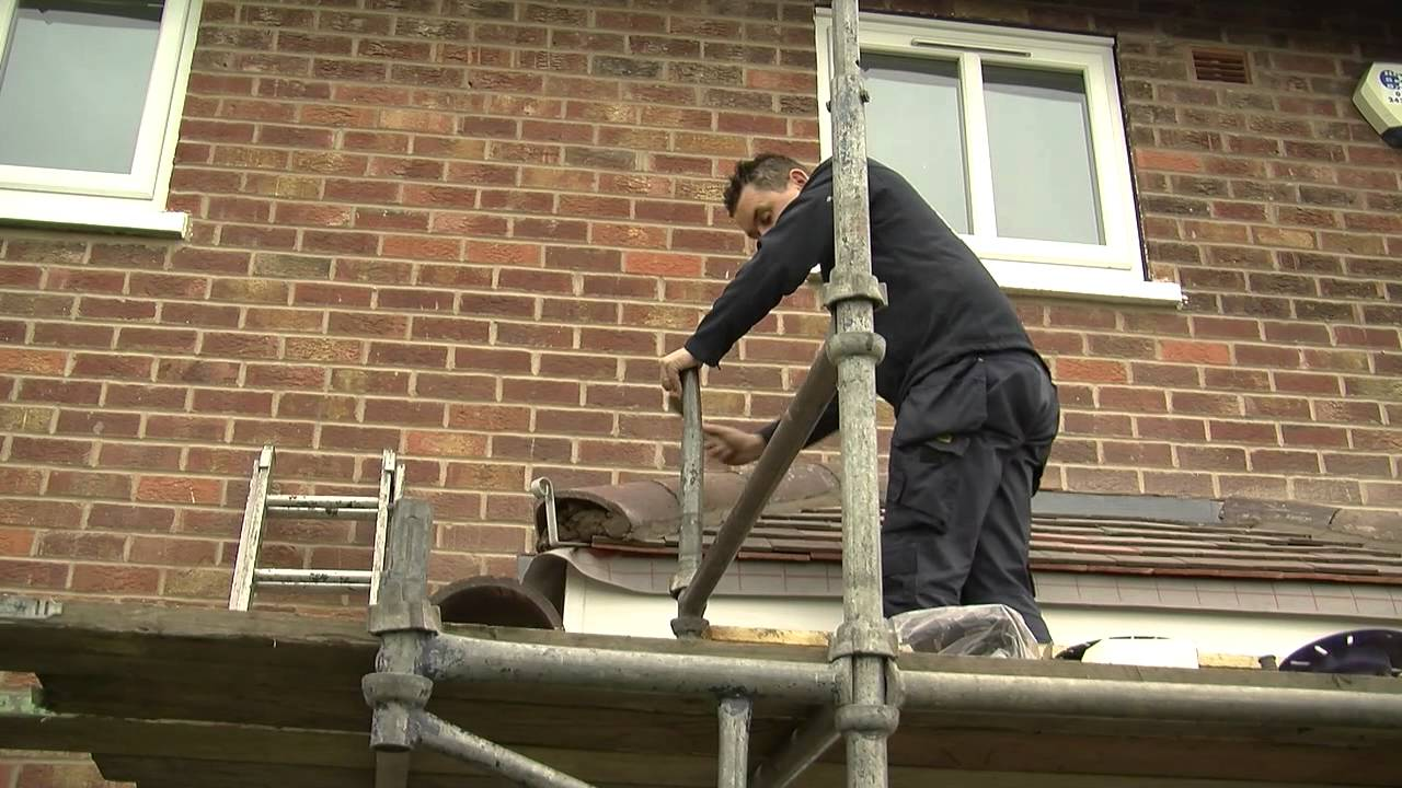 Pitched Roof Canopy Dalton Roofing Youtube