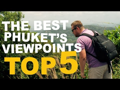 The best place to see in Phuket Island |Top 5 Viewpoints 4K