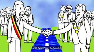 Vanaf 1 januari 2018 loopt de grens België - Nederland weer in het midden van de Maas