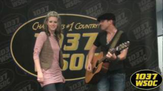 103.7 WSOC: Thompson Square performs in our Studio!
