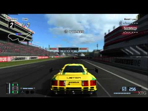 Gran Turismo 4 - Lister Storm V12 Race Car HD PS2 Gameplay