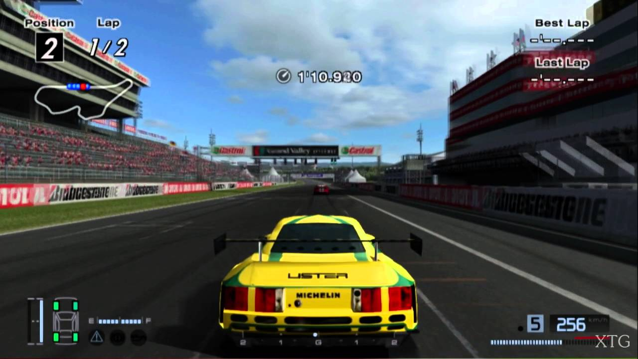 Lister Storm V12 Race Car HD PS2 Gameplay