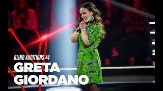 """Greta Giordano """"Canto anche se sono stonato"""" - Blind Auditions #4 - TVOI 2019"""