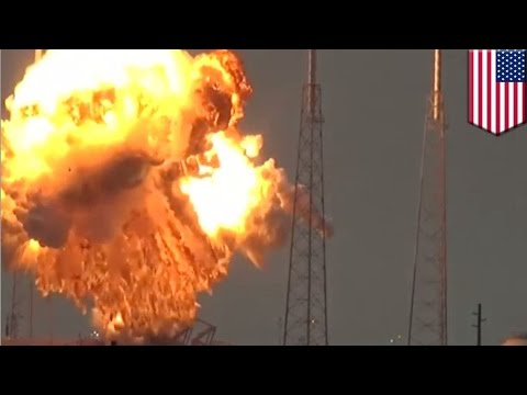 SpaceX explosion: Falcon 9 rocket blows up in flames, destroys Facebook satellite - TomoNews