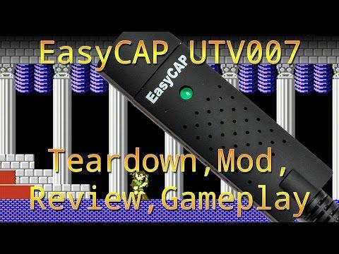 EasyCap 2.0 Review Teardown Mod Nes Snes Retroduo Gameplay and Compare 5 usd Capture Card
