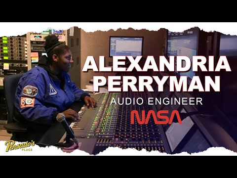 NASA Audio Engineer, Alexandria Perryman – Pensado's Place #473