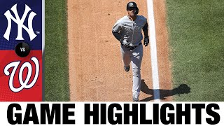 Gleyber Torres leads Yanks in 3-2 comeback win | Yankees-Nationals Game Highlights 7/26/20
