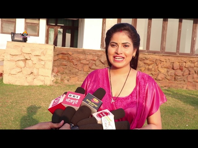Dil Tujh Pe Qurban Bhojpuri Film On Location Shooting Abhay Tiwari Ritedh Pandey Ayushi Tiwari