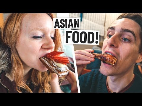 Asian Food at SEATTLE'S INTERNATIONAL DISTRICT! + Our First USA Meetup!