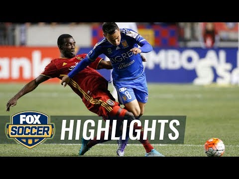 Real Salt Lake vs. Tigres | CONCACAF Champions League Highlights