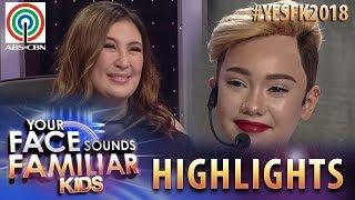 YFSF Kids 2018 Highlights: Jury, pinuri ang galing ng performance ni Krystal as Miley Cyrus
