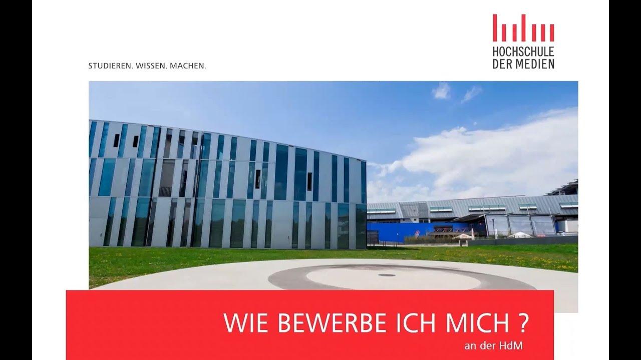 Bewerbungsverfahren Und Fristen Hochschule Der Medien