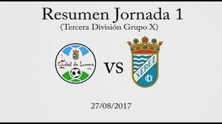 Resumen Ciudad de Lucena 1-1 Xerez Club Deportivo