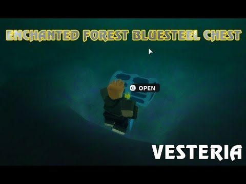 All Known Chest Locations In Enchanted Forest Roblox Vesteria - Vesteria How To Find Silverbluesteel Chest In Enchanted