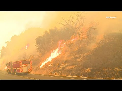 No end in sight for California wildfires