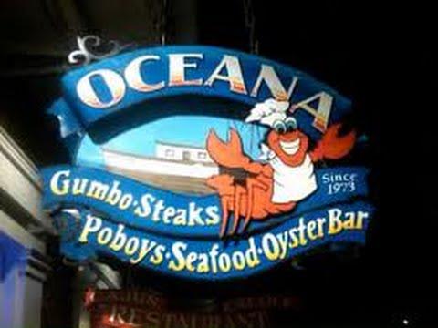 Oceana Grill Restaurant Review Bourbon Street New Orleans 2015 Youtube