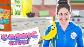 One of Cosmic Kids Yoga's most viewed videos: Betsy the Banana | A Cosmic Kids Yoga Adventure!