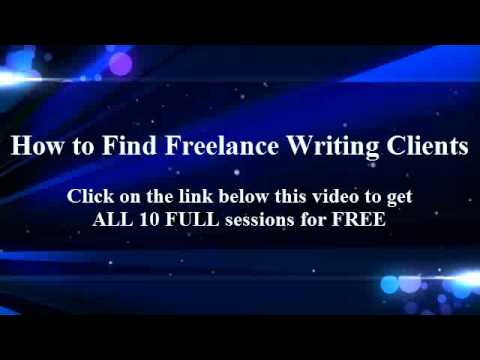 Where to Find Freelance Writing Clients