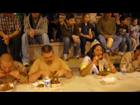 2009 Sweetwater TX. Rattlesnake Round-Up Snake Meat Eating Contest.