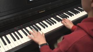 "Aidan plays ""Jazz Waltz"" by Christopher Norton"