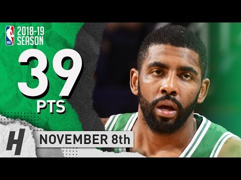 Kyrie Irving SICK Highlights Celtics vs Suns 2018.11.08 - 39 Pts, 6 Ast, 7 Reb, COMEBACK WIN!!