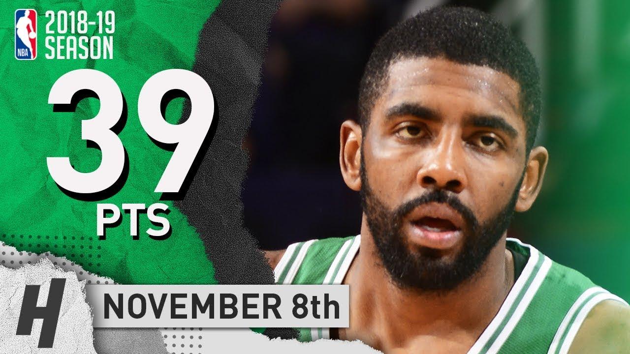 Kyrie Irving SICK Highlights Celtics vs Suns 2018.11.08 - 39 Pts 3ee85a651