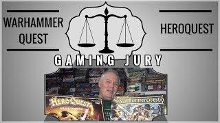 Gaming Jury: Warhammer Quest  Vs Heroquest