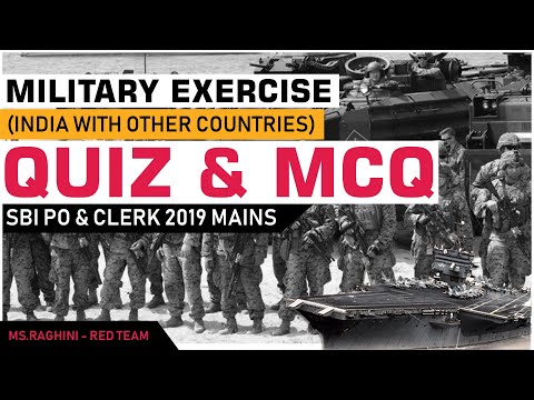 Joint Military Exercises 2019 | India & Others | Race Institute