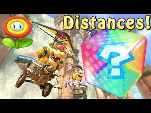 Mario Kart 8 Deluxe Item Probability Distance Intervals - Flower Cup
