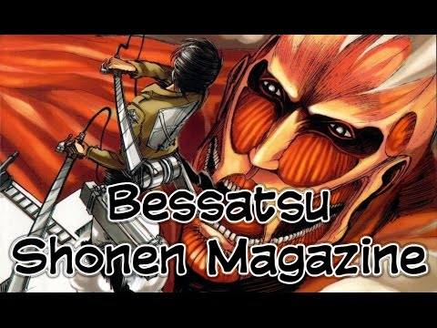 Bessatsu Shonen Magazine - Top 10 Best Selling Manga [2016]
