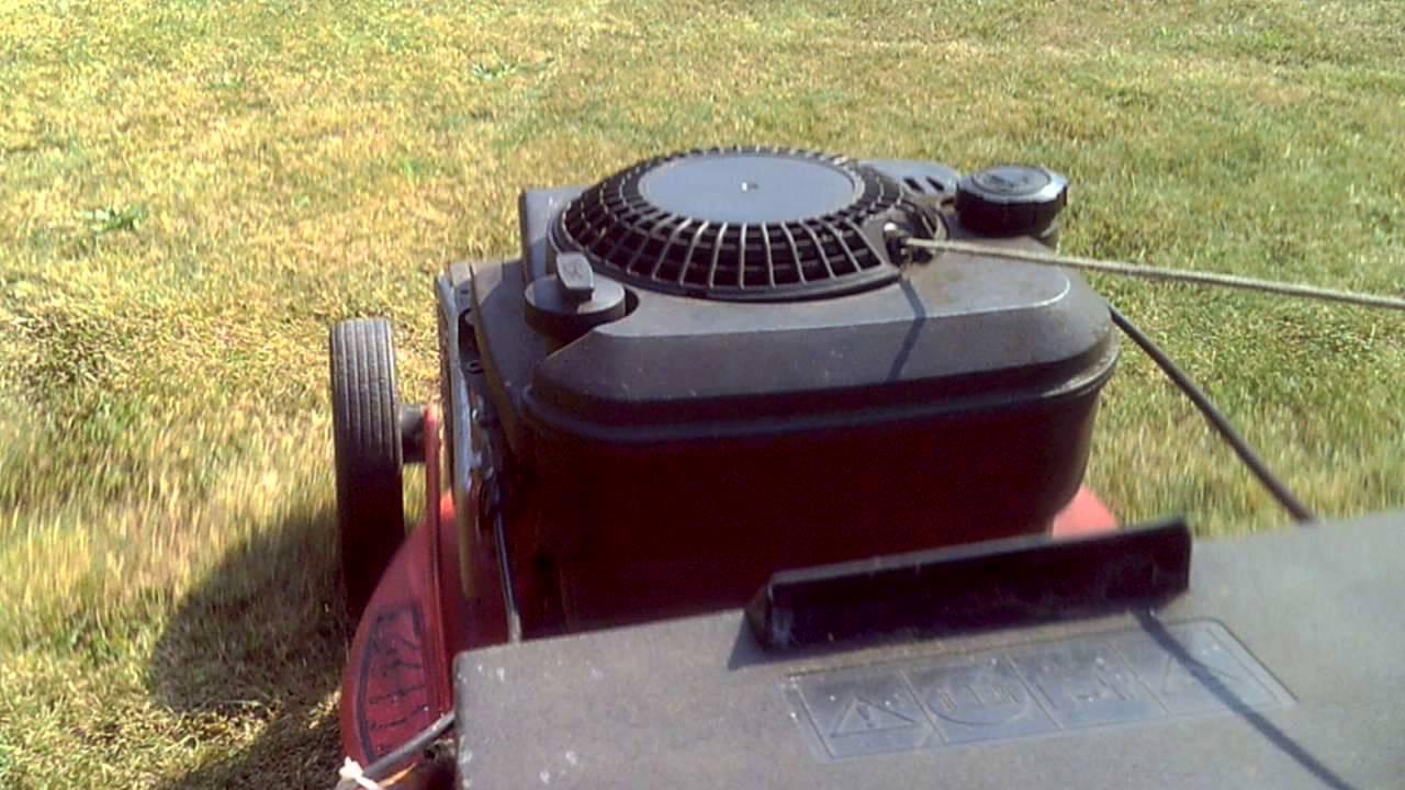 sabo 43 - 4 economy rasenmäher lawn mower - youtube