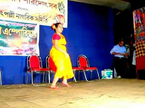 Sinjini De performed dance on Tip Tip Chand Nemeche Chilekothai