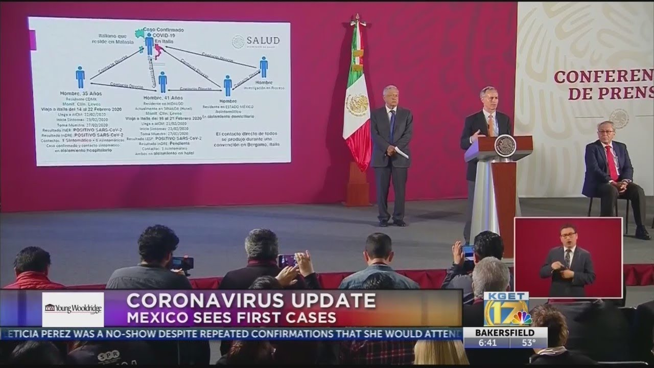 Mexico confirms first 2 cases of coronavirus