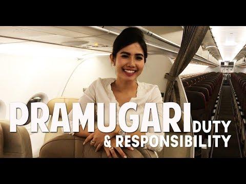 Duty and Responsibility Pramugari - by Vincent Raditya ( BATIK AIR )