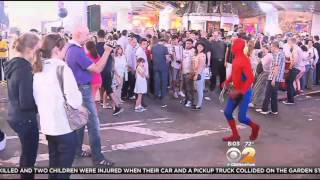 Spider-Man Arrest Strengthens Push To Regulate Times Square Characters