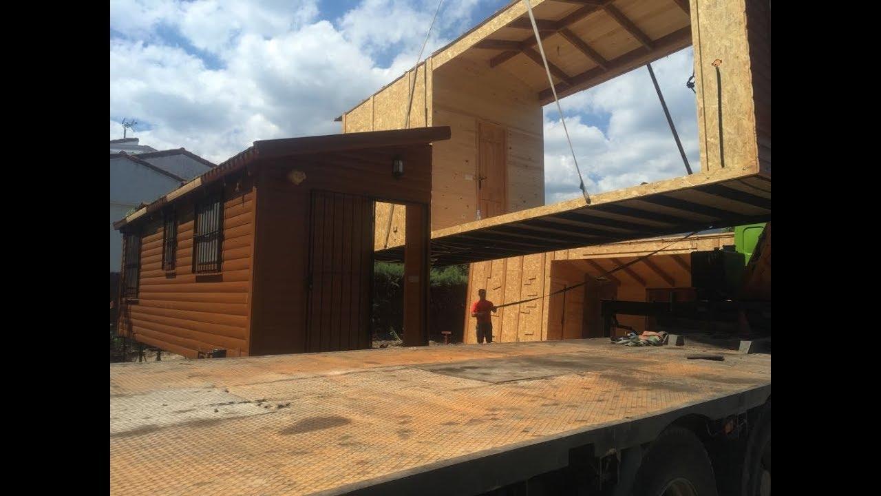 Ampliaci n de casas de madera con m dulos prefabricados youtube - Casa de modulos prefabricados ...