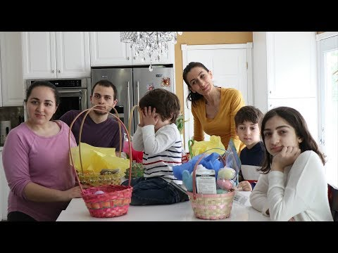 Heghineh Family Vlog #92 - Ուրախ Զատիկ - Heghineh Cooking Show in Armenian